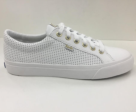 Keds Jump Kick perf leather in white