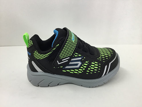 Skechers Mighty Stride in black/lime