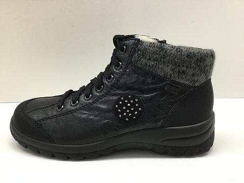 Rieker L71101 in black