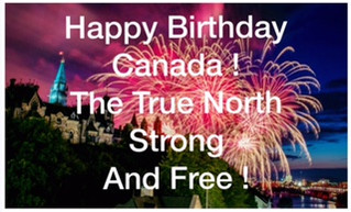 Happy Birthday Canada...