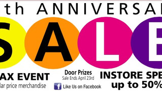 Our 45th Anniversary Sale