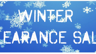 Our Winter Clearance continues...