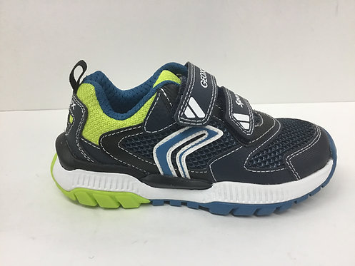 Geox Tuono in navy/lime