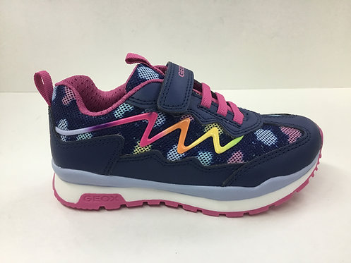 Geox Pavel in navy multi colour