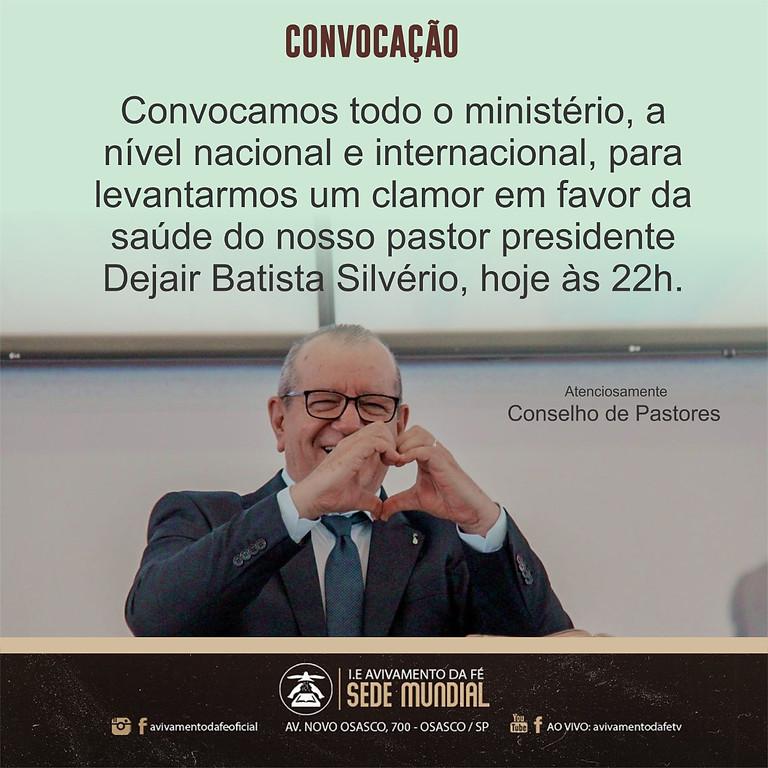 ORAÇÃO PELO NOSSO PASTOR