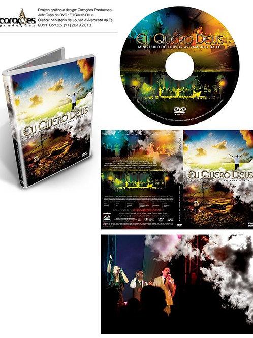 DVD Eu quero Deus