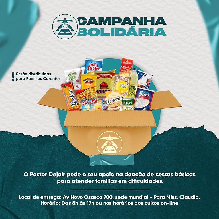 Campanha solidária