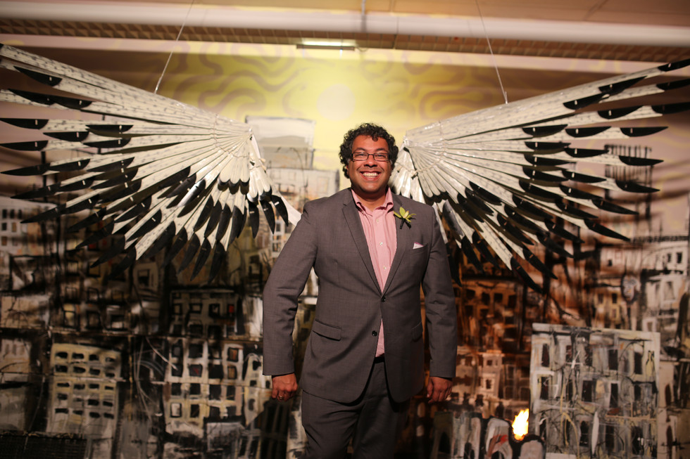 Nenshi with Wings