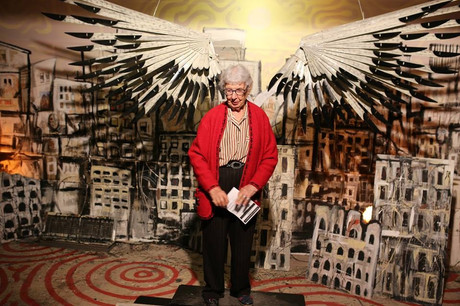 Grandmother with Wings