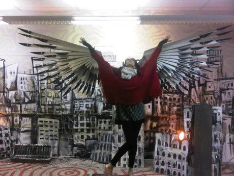 Angela with Wings