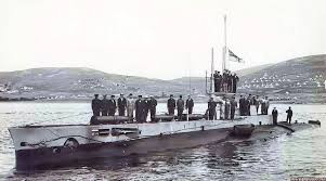 The submarine with two VCs