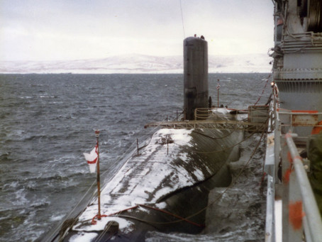 Dodgy moments in submarines ... and the changing density of sea water