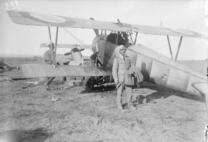 Wing Commander Charles Samson in the Dardanelles