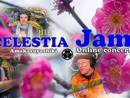 Celestia Jam-Online concert @Amakasu Yashiki