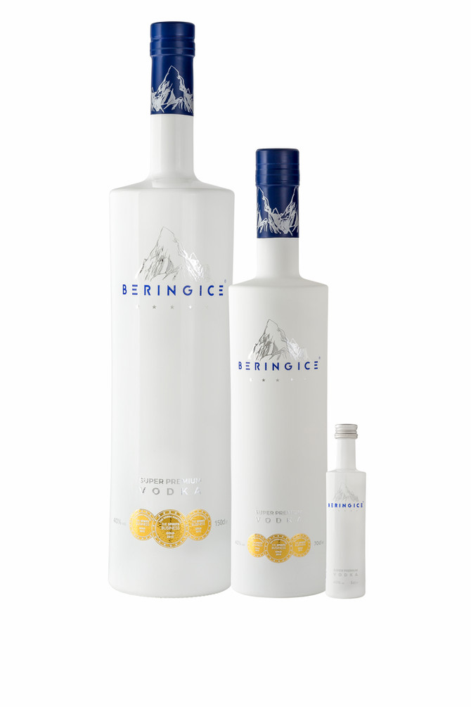 BERINGICE VODKA: HANDCRAFTED TO SWISS PERFECTION