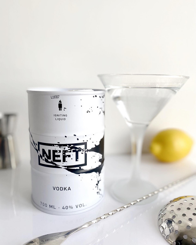 WELCOME TO THE UNCONVENTIONAL WORLD OF NEFT VODKA