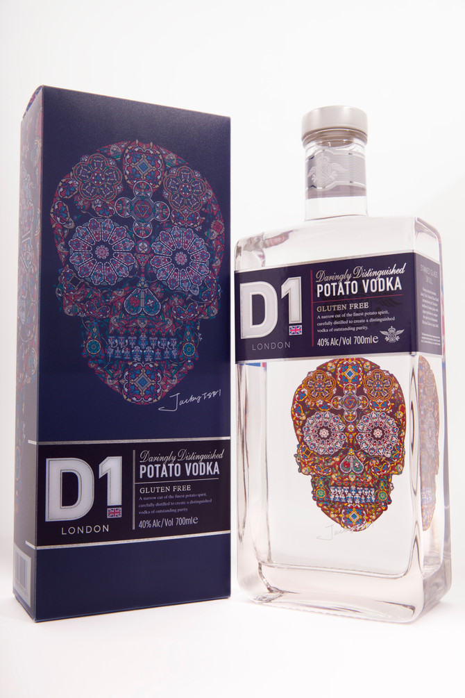 THE ART OF THE PACKAGE, THE PACKAGE AS ART: D1 POTATO VODKA