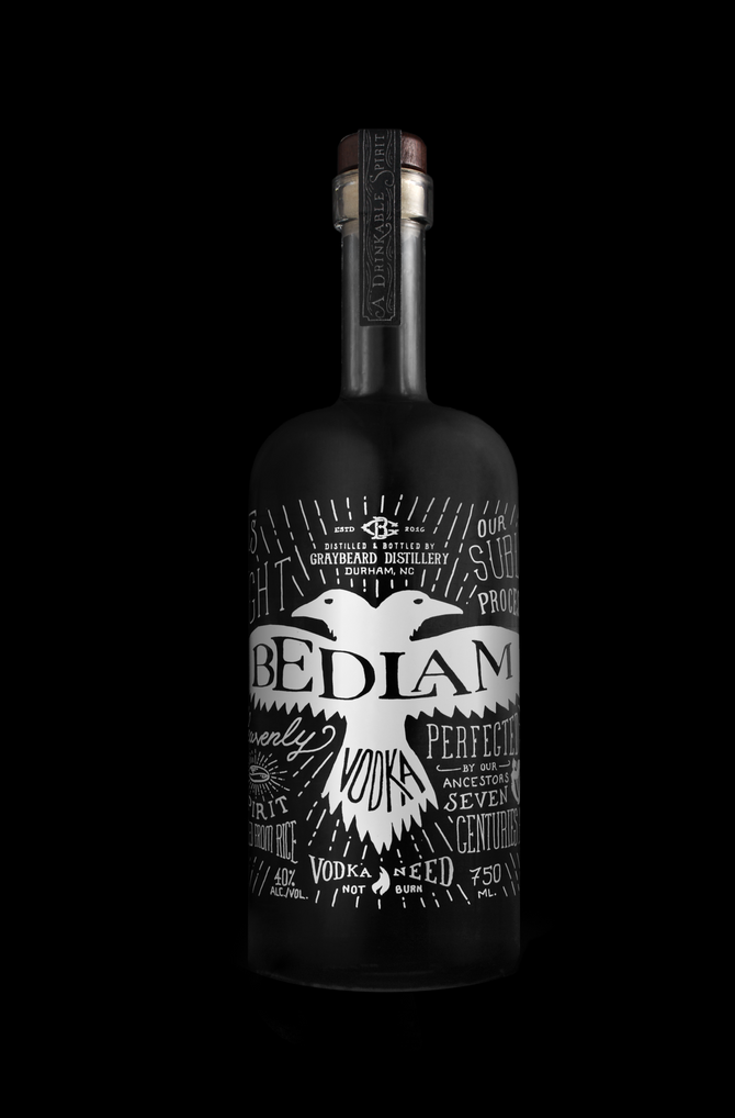 THE LEGEND OF BEDLAM VODKA