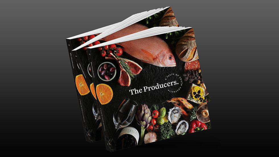 The Producers Book  (Temporary out of stock)