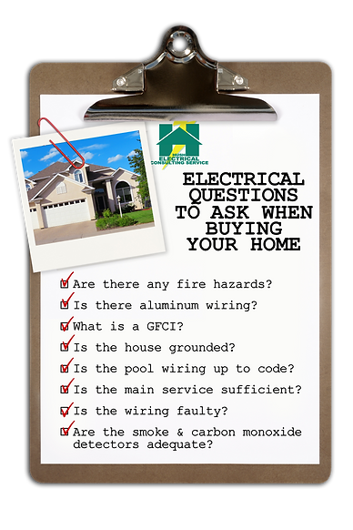 Electrical questions to ask when buying a home