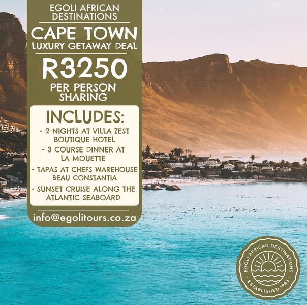 Cape Town Luxury Getaway Deal