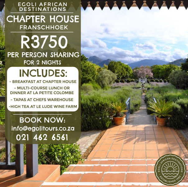 Chapter House Special Offer