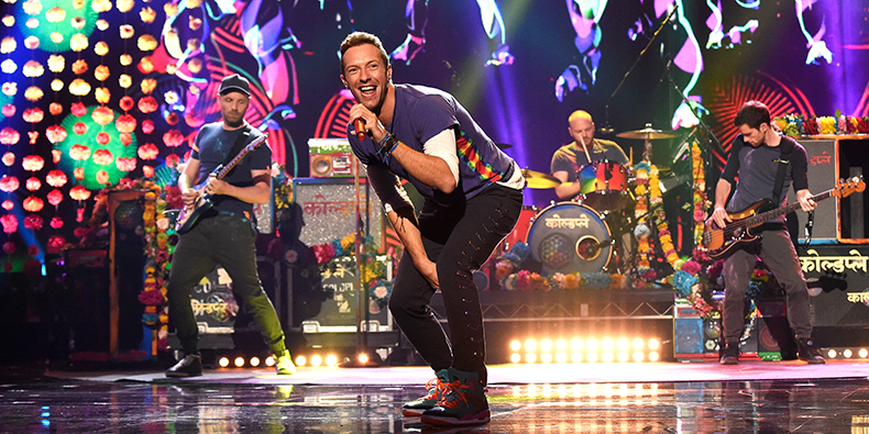 Coldplay Tour, Kevin Mazur Photo