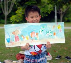 Yan Jie, 6 yrs old