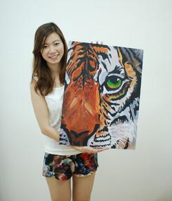 Utter Studio Tiger by Yvelia