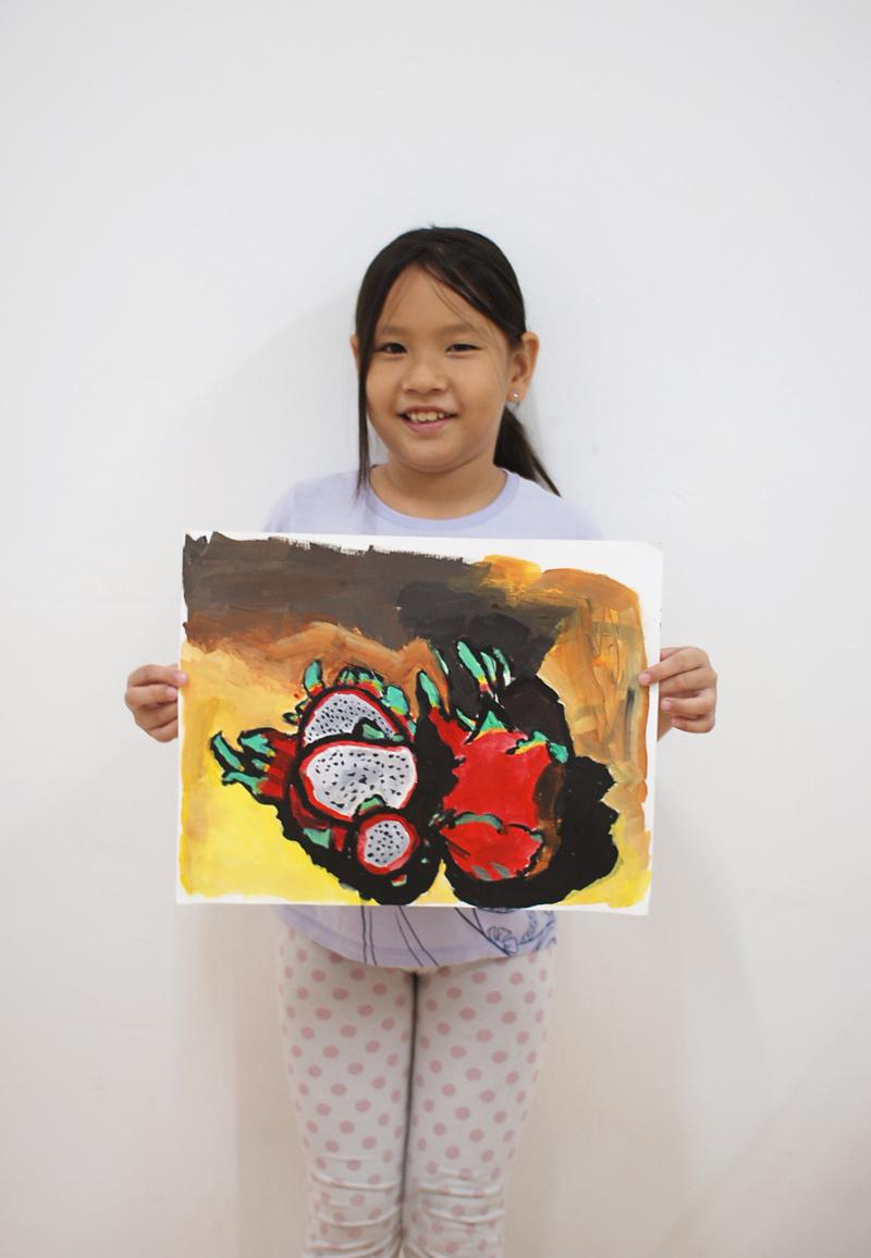 Utter Studio Dragonfruit by Kathleen