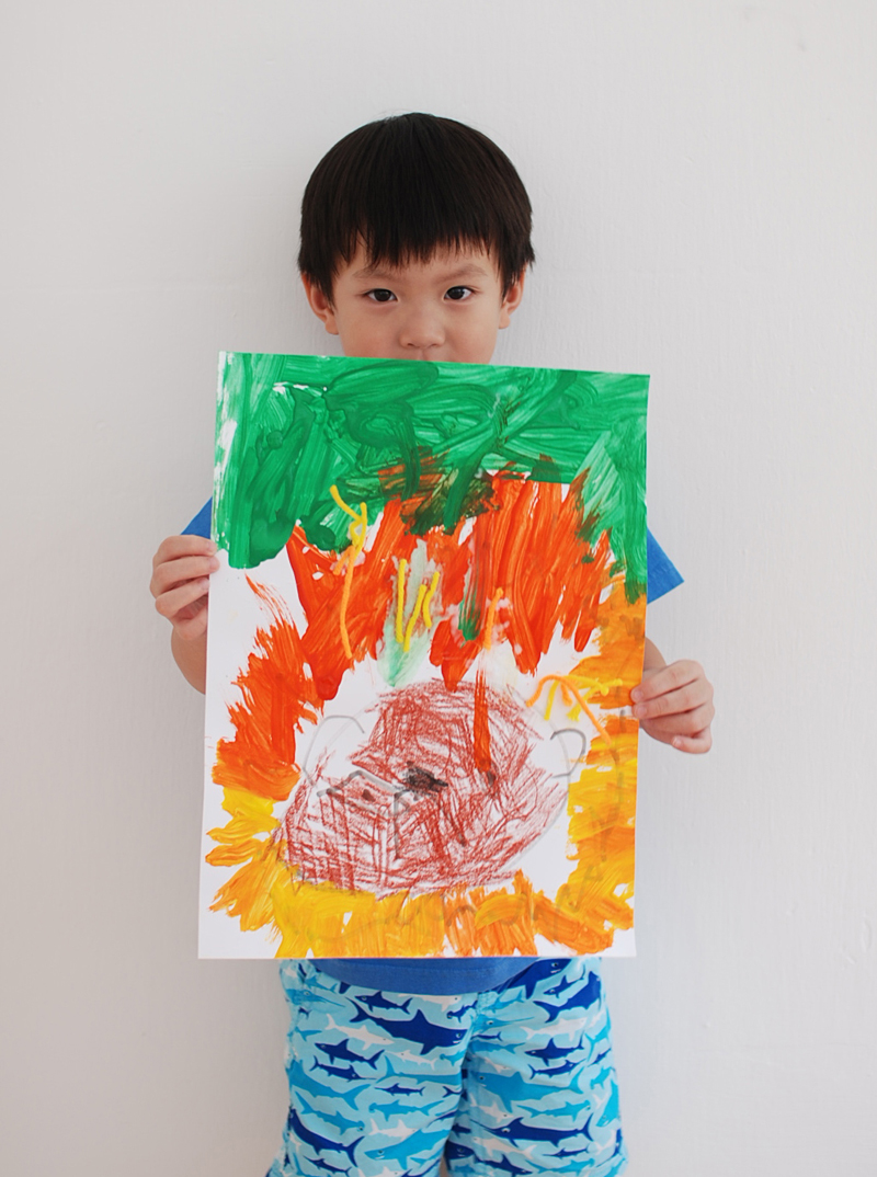 Lion by Gavin 3 yrs old
