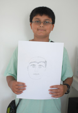 Self Portrait by Dinesh