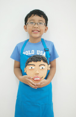 Christian Self portrait sculpture