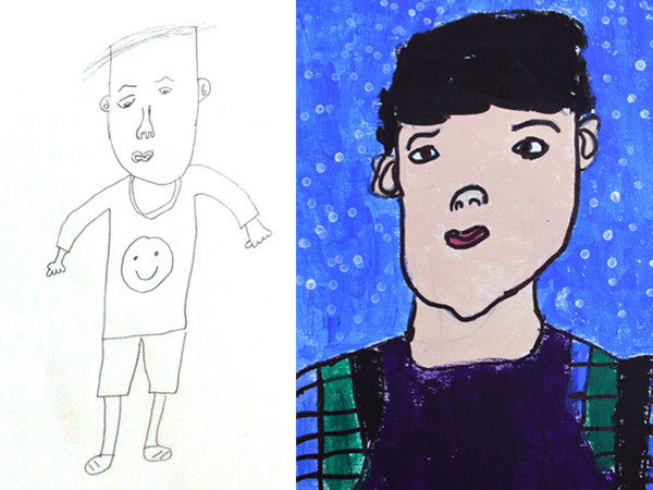 Why do portraits for young children?