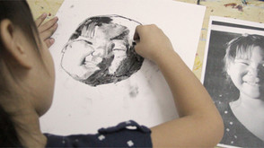 Charcoal Drawing Journey of a 7 Year Old (part 1)