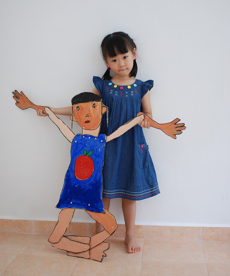 Mini me by Yi Xuan, 4 yrs old