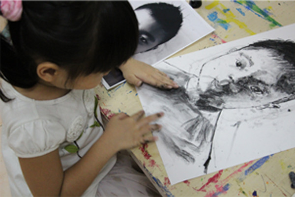 Charcoal Drawing Journey of a 7 Year Old (Part 2)
