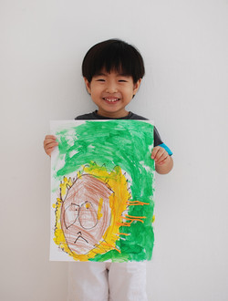 Lion by YiEn 3 yrs old