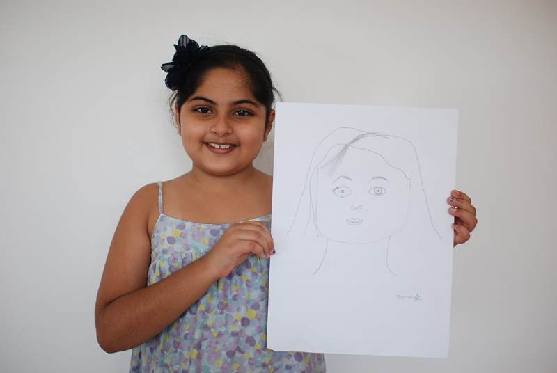 Self Portrait by Sharona