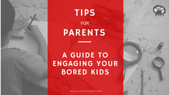 Tips for Parents: A Guide to Engaging Your Bored Kids