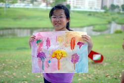 Yan Tong, 8 yrs old