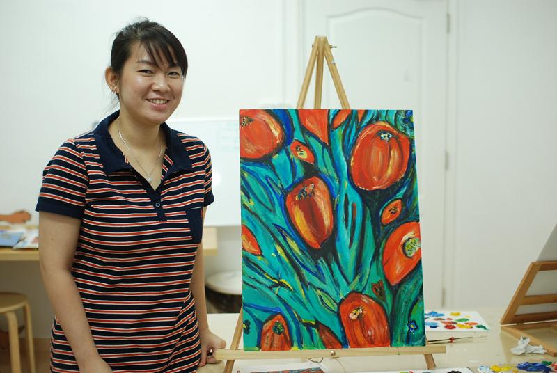 Utter Studio Tulip by Lorraine