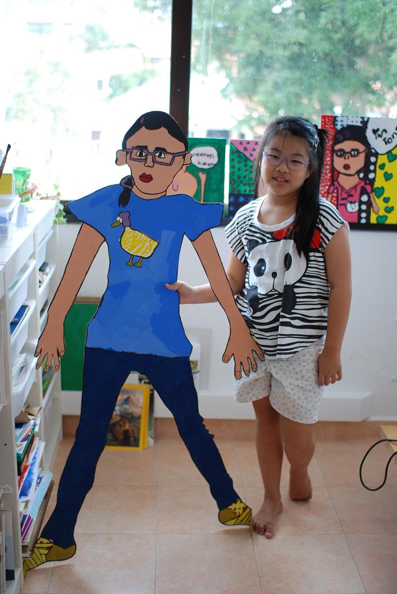 Mini me by Yan Tong, 8 yrs old