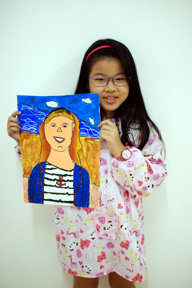Mary by Yan Tong, 8 yrs old