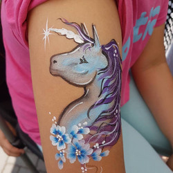 Unicorn on arm