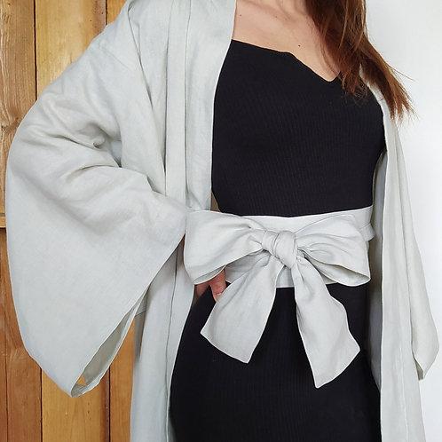 obi lin, ostara atelier, créations éthiques, vêtement écoresponsable, mode durable, marque française, artisanat, kimono
