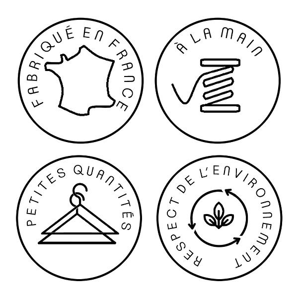 Ostara atelier, créations éthiques : mode végétale et casual, fabrication artisanale française, petites séries, mode durable, vêtements écoresponsables, slowfashion, fabriqué en France, à la main, en petites quantités, dans le respect de l'environnement