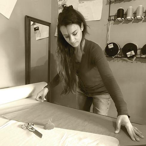 Ostara atelier, créations éthiques : mode végétale et casual, fabrication artisanale française, petites séries, mode durable, vêtements écoresponsables, slowfashion, fabriqué en France, à la main, en petites quantités, dans le respect de l'environnement, lin, créatrice
