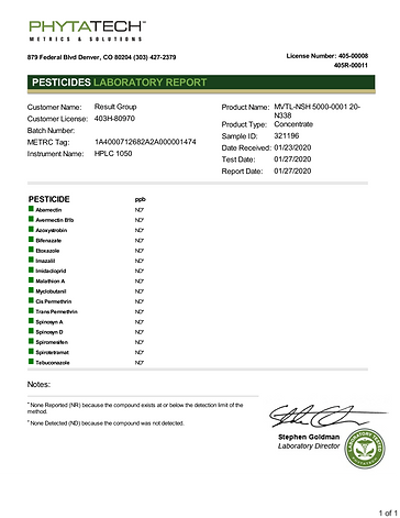 MVTL-NSH 5000-0001 20-N338 pesticides.PN