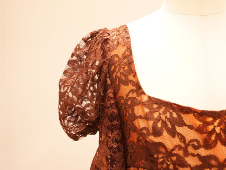 Antique lace.
